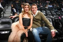 Eugenie Bouchard Pays Off Blind Date Bet at NBA Game