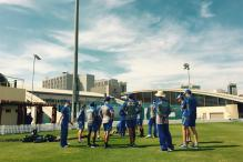 Steve Smith and Boys Sweat It Out in Dubai for India Test