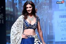 Disha Patani Gets Candid at Lakme Fashion Week 2017