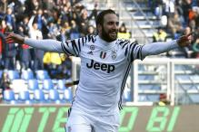 Serie A: Higuain Brace Lifts Juventus to Win Over Cagliari
