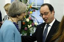 France's Hollande Says Trump Pressure on EU 'Unacceptable'