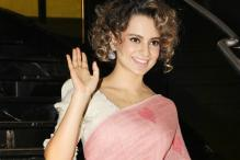 Kangana's Pink Saree With Heart-Motifs Is The Perfect Dress For V-Day