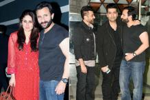 Kareena Kapoor, Saif Ali Khan, Karan Johar Get Together At Sanjay Kapoor's Residence