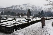 Fresh Snowfall in Parts of Kashmir, Warm Day in Delhi