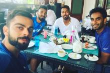 Virat Kohli and Boys Bond Over Breakfast
