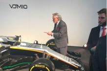 Absconding Vijay Mallya Appears in UK for Launch of F1 Car