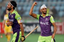 HIL 2017: Mandeep Singh Scores Twice as Delhi Waveriders Thrash UP Wizards 8-1