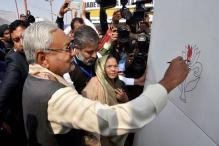 Bihar CM adds 'Colour to Lotus' at Patna Book Fair, Triggers Speculation
