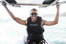 This Video Of Barack Obama And Richard Branson Kitesurfing Is So Much Fun