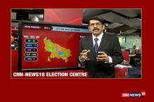 Timeline of UP Elections: CNN-News18 Video Wall