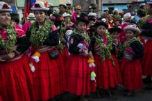 Fiesta De La Candelaria:  Peru Highlands Revel In Blast Of Festival Color