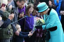 In Pics: Queen Elizabeth II Celebrates Sapphire Jubilee