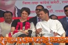 Priyanka Hits Campaign Trail, Woos Women Voters in Raebareli