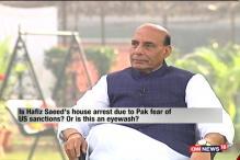 Hafiz Saeed's House Arrest by Pakistan An Eyewash: Rajnath Singh