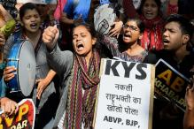 Not Scared of ABVP: Campaign by Kargil Martyr's Daughter Goes Viral
