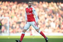 Arsenal Midfielder Aaron Ramsey Out for Three Weeks