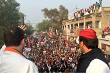 UP Elections 2017 Live: Akhilesh Yadav and Rahul Gandhi Roadshow in Agra