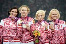 Russia Stripped of London Olympics Relay Silver Medal for Doping