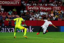 Sevilla Beat Rivals Betis to go Joint Top of La Liga