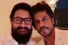 SRK, Aamir Khan Click Their Very First Picture Together and It's Classic