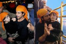 Shah Rukh Visits Golden Temple With Abram, Says It Is Peaceful