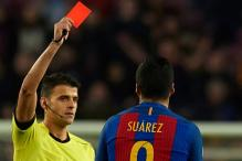 Barcelona Launch Appeal In Bid to Overturn Luis Suarez Red Card
