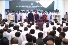 E Palaniswami Sworn in as Tamil Nadu CM in a Low-profile Ceremony