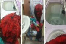 3-yr-old Twins Climb up Cloth Pile, Drown in Washing Machine's Spin Tub