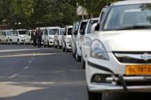 App-based Taxi Drivers on Strike in Delhi Today