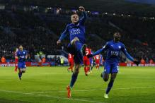 Jamie Vardy Hits Two As Leicester Stun Liverpool 3-1