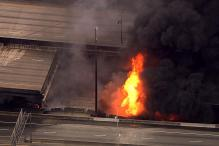 Massive Fire Crumbles Atlanta Interstate Bridge; None Hurt