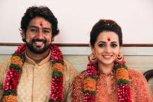 Malayalam Actress Bhavana Gets Engaged to Kannada Producer Naveen