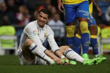 Cristiano Ronaldo Likely to Miss Eibar Trip for Stuttering Real Madrid