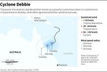 Cyclone Debbie Makes Landfall in Australia