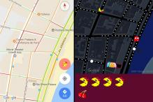 Google Brings Pacman on Google Maps on April Fool's Day