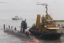 India-made Scorpene Submarine Test-fires Missile