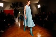 Blue Is The Color Of The Season At VIP-Studded Paris Shows