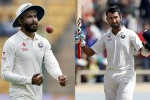 Jadeja Tops Bowlers Rankings, Pujara Second in Batting Charts