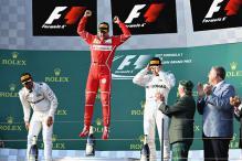 Sebastian Vettel Wins Australian Grand Prix, Lewis Hamilton Finishes 2nd