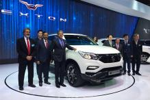 New Ssangyong Rexton Unveiled at Seoul Motor Show, To be Launched in India as a Mahindra