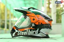 Steelbird SB 42 Airborne Helmet Review: A Hybrid Motocross Gear With Dual Visors