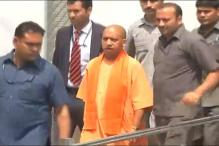 UP CM Adityanath Meets Gang Rape Survivor Forced to Drink Acid on Train