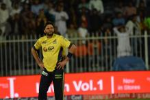 Injured Shahid Afridi Out of Pakistan Super League Final Against Quetta Gladiators
