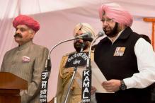 Amarinder Singh Takes Oath as Punjab CM, Navjot Sidhu Gets Cabinet Berth