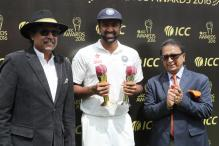 Ashwin Presented With Garfield Sobers Trophy