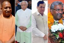 Bachelor Chief Ministers' Club Has a New Entrant in Yogi Adityanath