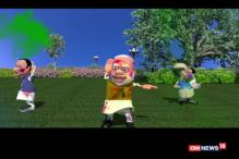 Breaking Toon: BJP Celebrating Holi In A Victory Style