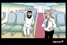 Breaking Toons: Shiv Sena MP Hits Air India Staffer