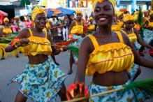 Haiti Celebrates Carnival With Colourful Costumes, High-Energy Dance, Music