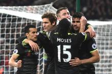 Eden Hazard and Diego Costa Restore Chelsea's 10-Point Lead